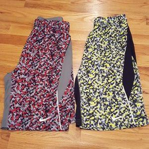2 pairs NIKE Dri-Fit Shorts
